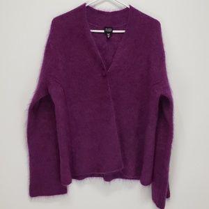 Eileen Fisher Lilac Cardigan Sweater